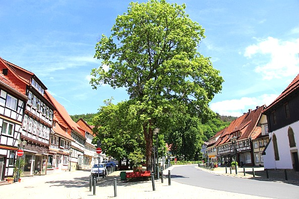 Am Markt in Bad Grund