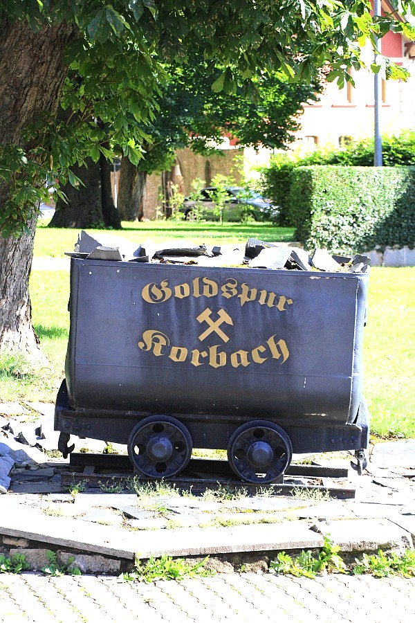 Die Goldspur in Korbach